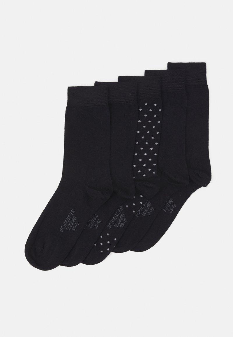Schiesser - STAY FRESH 5 PACK - Socks - black
