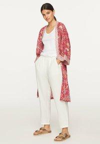 OYSHO - Summer jacket - red - 1