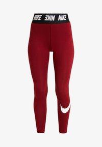 Nike Sportswear - CLUB  - Leggings - Hosen - team red/white - 3