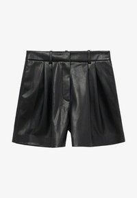 Mango - Shorts - zwart - 5