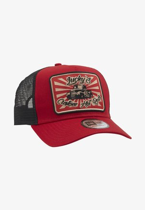 HOT ROD TRUCKER PACK - Cappellino - red/black