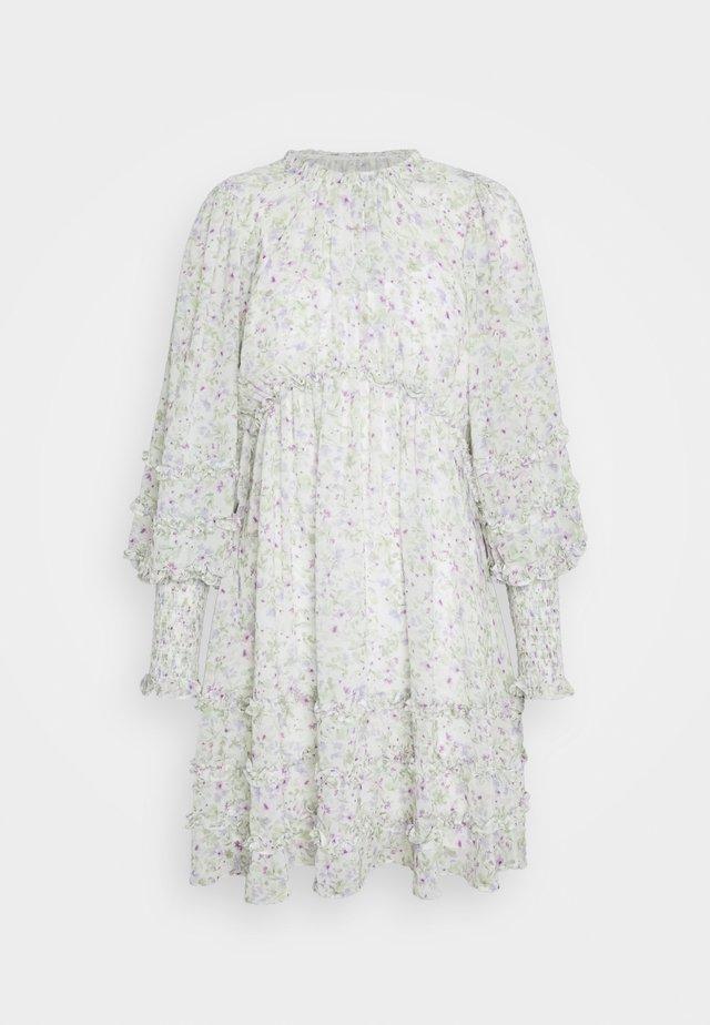 MINI RUFFLE DRESS - Korte jurk - dreamcatcher