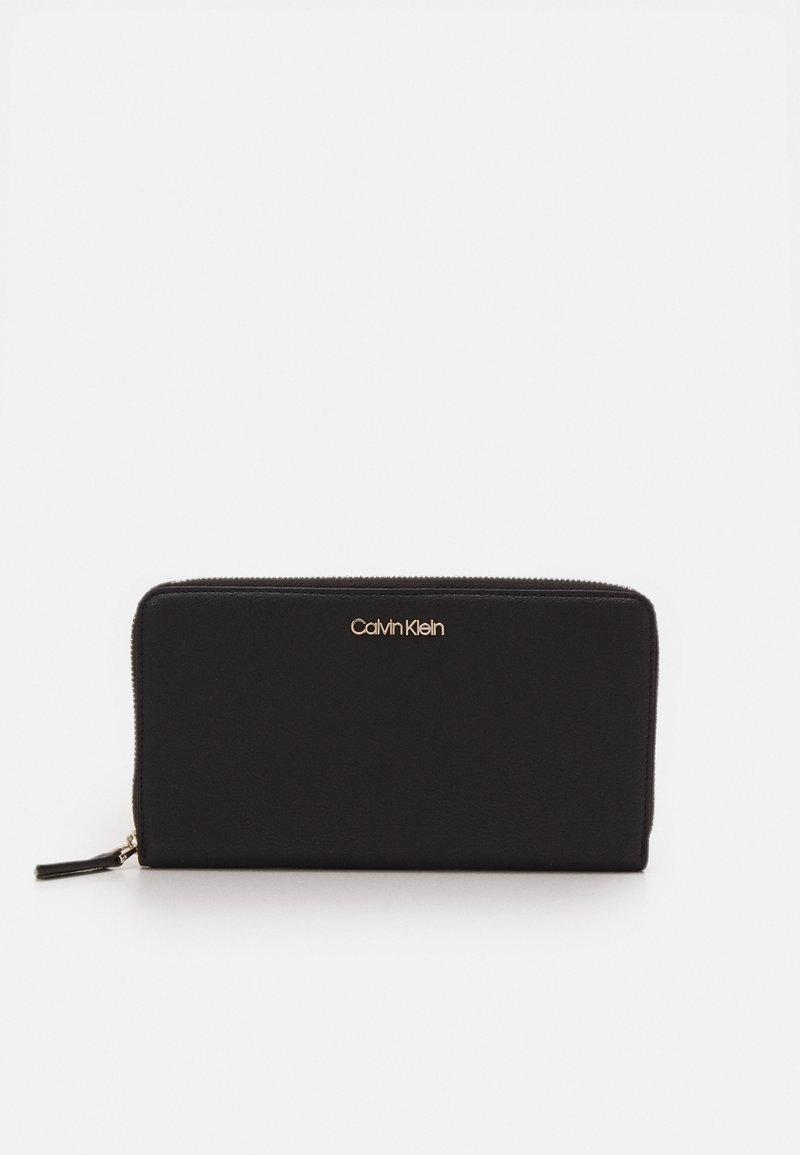 Calvin Klein - WALLET XL - Wallet - black