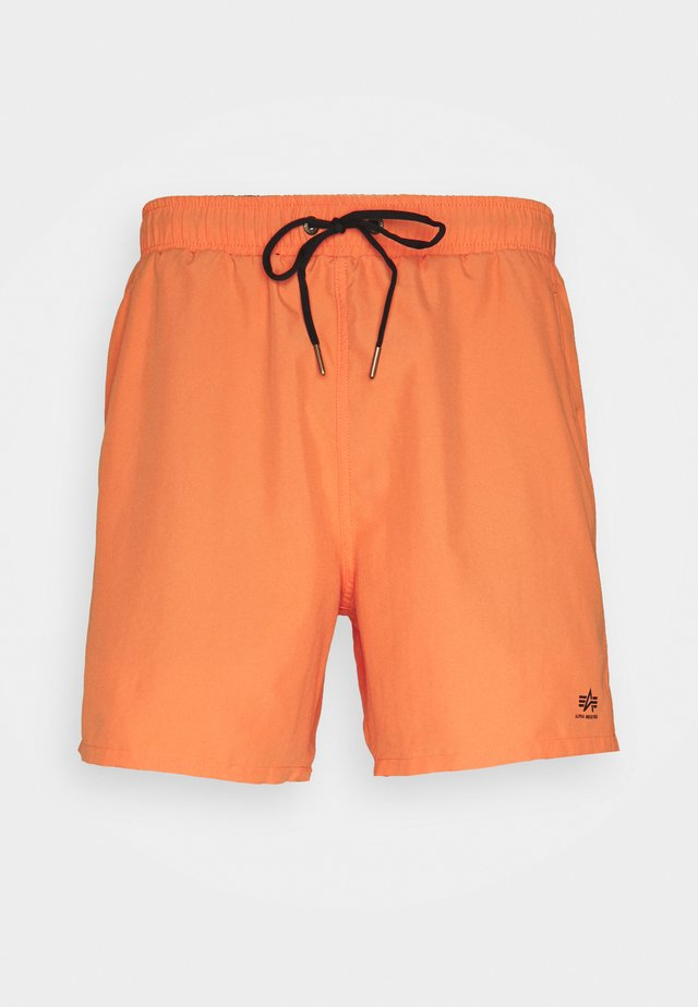 BASIC SWIM - Swimming shorts - alpha orange