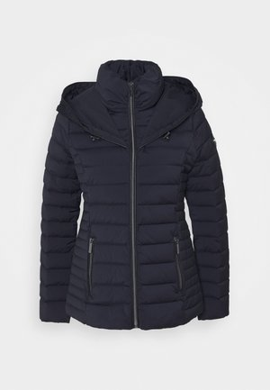STRETCH PACKABLE PUFFER - Bunda z prachového peří - dark navy