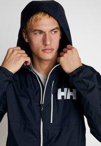 Helly Hansen - BELFAST PACKABLE JACKET - Waterproof jacket - navy - 3