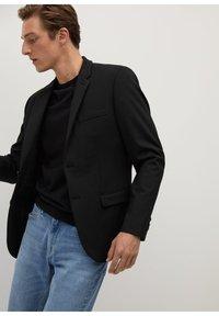 Mango - Blazer jacket - noir - 4