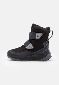 Jack Wolfskin - POLAR BEAR TEXAPORE HIGH UNISEX - Zimní obuv - black/grey - 0