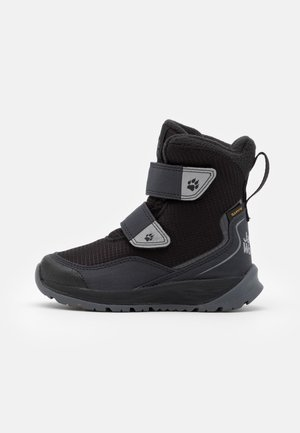 POLAR BEAR TEXAPORE HIGH UNISEX - Winter boots - black/grey