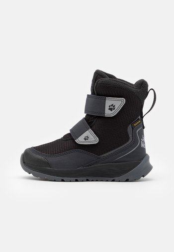 POLAR BEAR TEXAPORE HIGH UNISEX - Winter boots - black/grey
