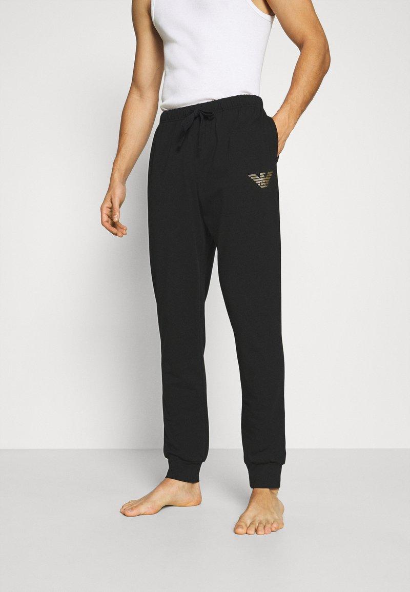 Emporio Armani - TROUSERS - Pantaloni del pigiama - nero