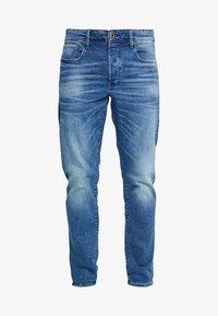 3301 STRAIGHT FIT - Jeansy Straight Leg - azure stretch denim