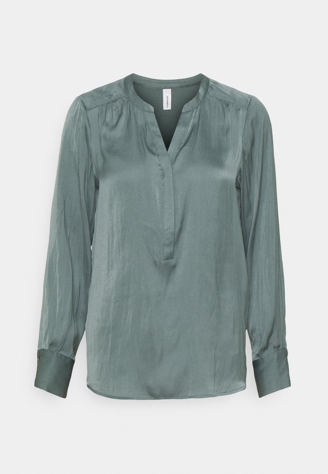 PAMELA - Blouse - shadow green