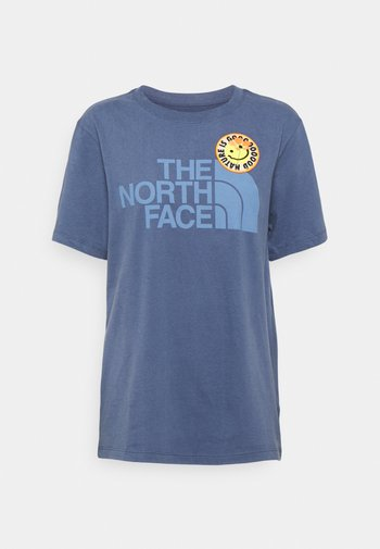 PATCHES TEE  - T-shirts print - vintage indigo