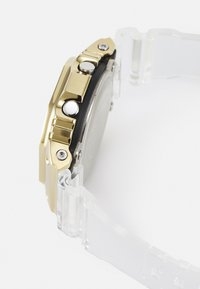 G-SHOCK - GOLD-INGOT TRANSPARENT GM-5600SG UNISEX - Digital watch - gold-coloured /transparent - 2