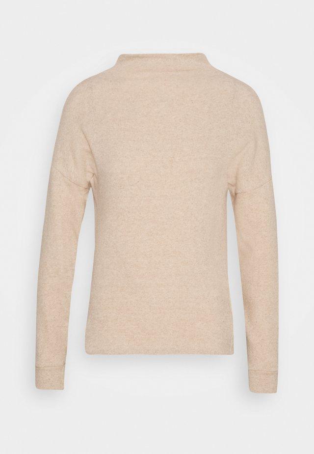 NUOVA - Stickad tröja - camel