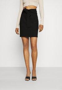 Morgan - JARIA - Mini skirt - noir - 0