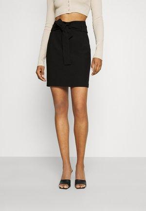 JARIA - Mini skirt - noir