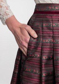 Spieth & Wensky - A-line skirt - dunkelrot - 3