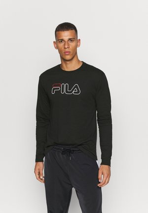 LAURUS LONGSLEEVE - Long sleeved top - black