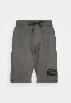 TONAL LOGO BEACH - Shorts - black