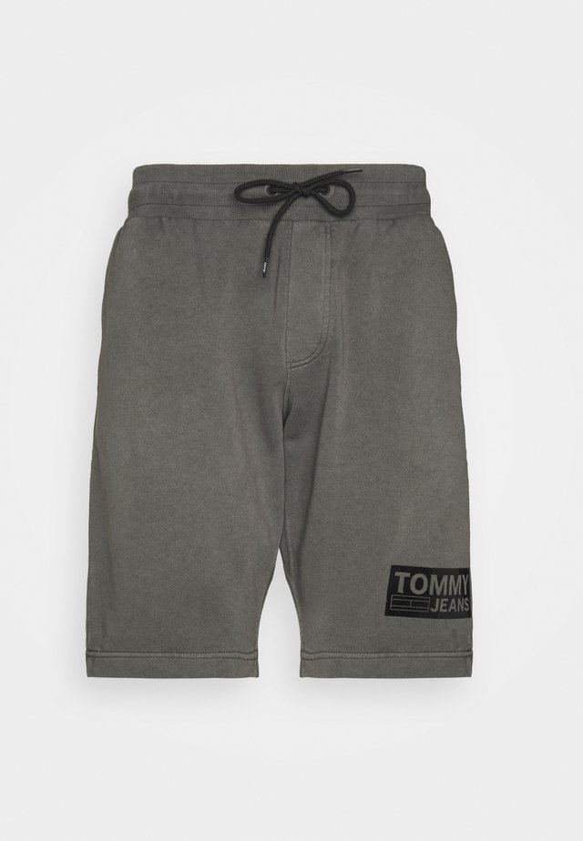TONAL LOGO BEACH - Shorts - black