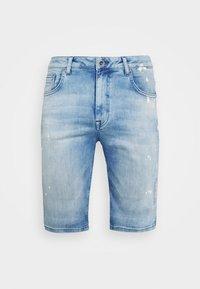 BARIS  - Denim shorts - stone used
