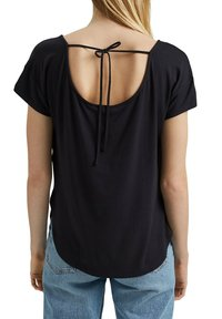 edc by Esprit - Print T-shirt - black - 4