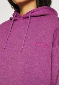 BDG Urban Outfitters - HOODIE - Sweater - damson magenta - 4