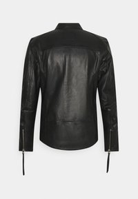 Tigha - BENNET - Kožená bunda - black - 1