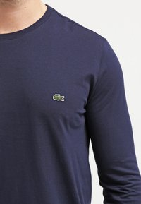 Lacoste - Long sleeved top - navy blue - 4