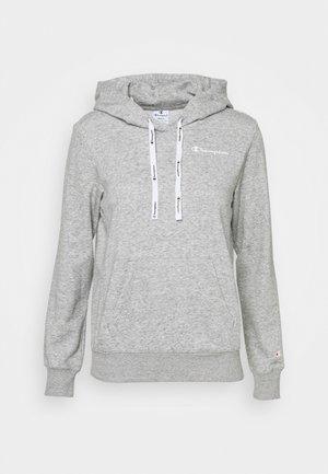 HOODED - Sweatshirt - grey melange