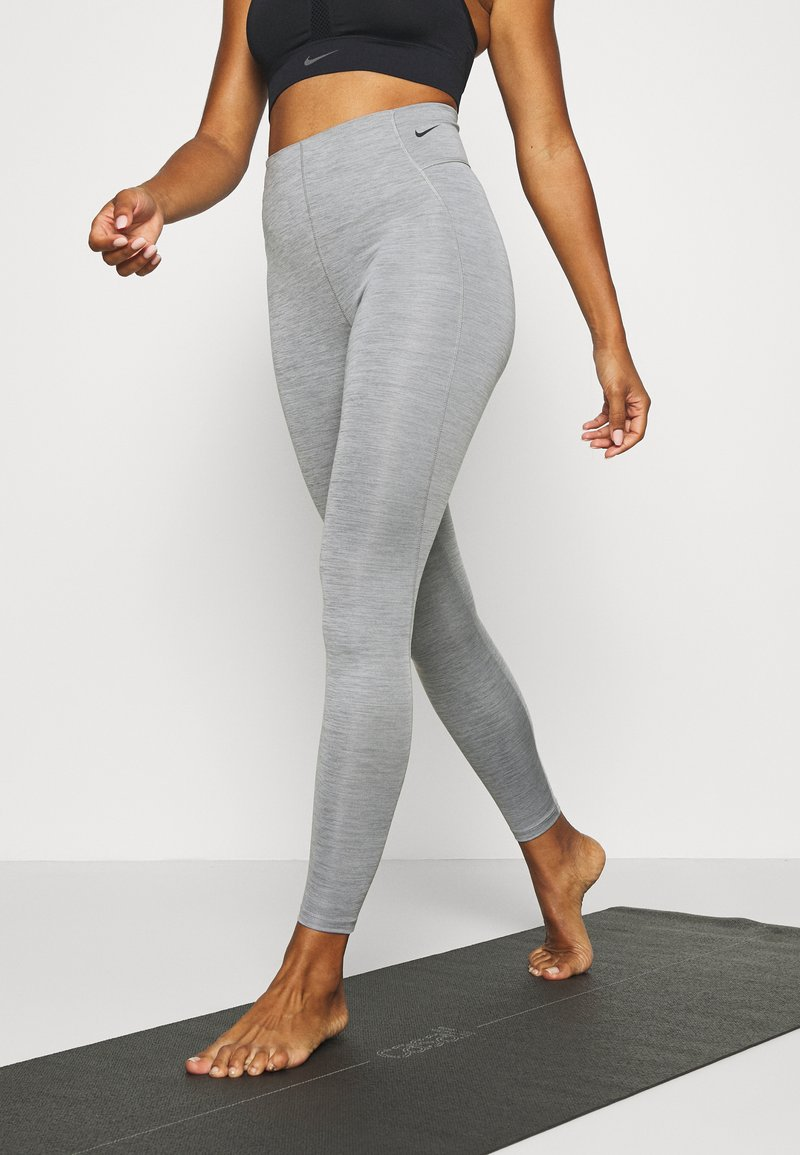 Nike Performance - Leggings - iron grey/black