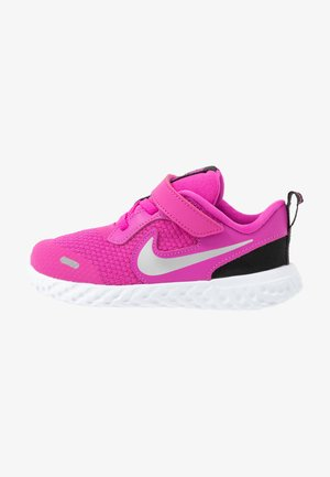 REVOLUTION 5 TDV - Zapatillas de running neutras - active fuchsia/metallic silver/black