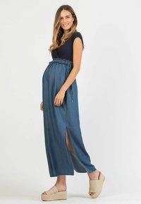 Attesa Maternity - GAIA - Maxi dress - blue - 1