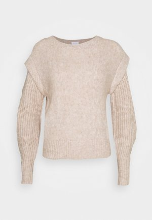 VICATINA PANEL TOP CAMP - Jumper - natural melange