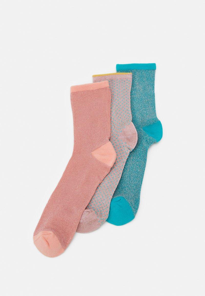 Becksöndergaard - MIX SOCK 3 PACK - Socks - waterfall/clay/violetice
