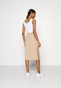 Fashion Union - BRYONY  - Pouzdrová sukně - beige - 2