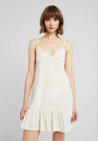 Nly by Nelly - IN YOUR DREAMS DRESS - Jerseyjurk - turtledove - 0