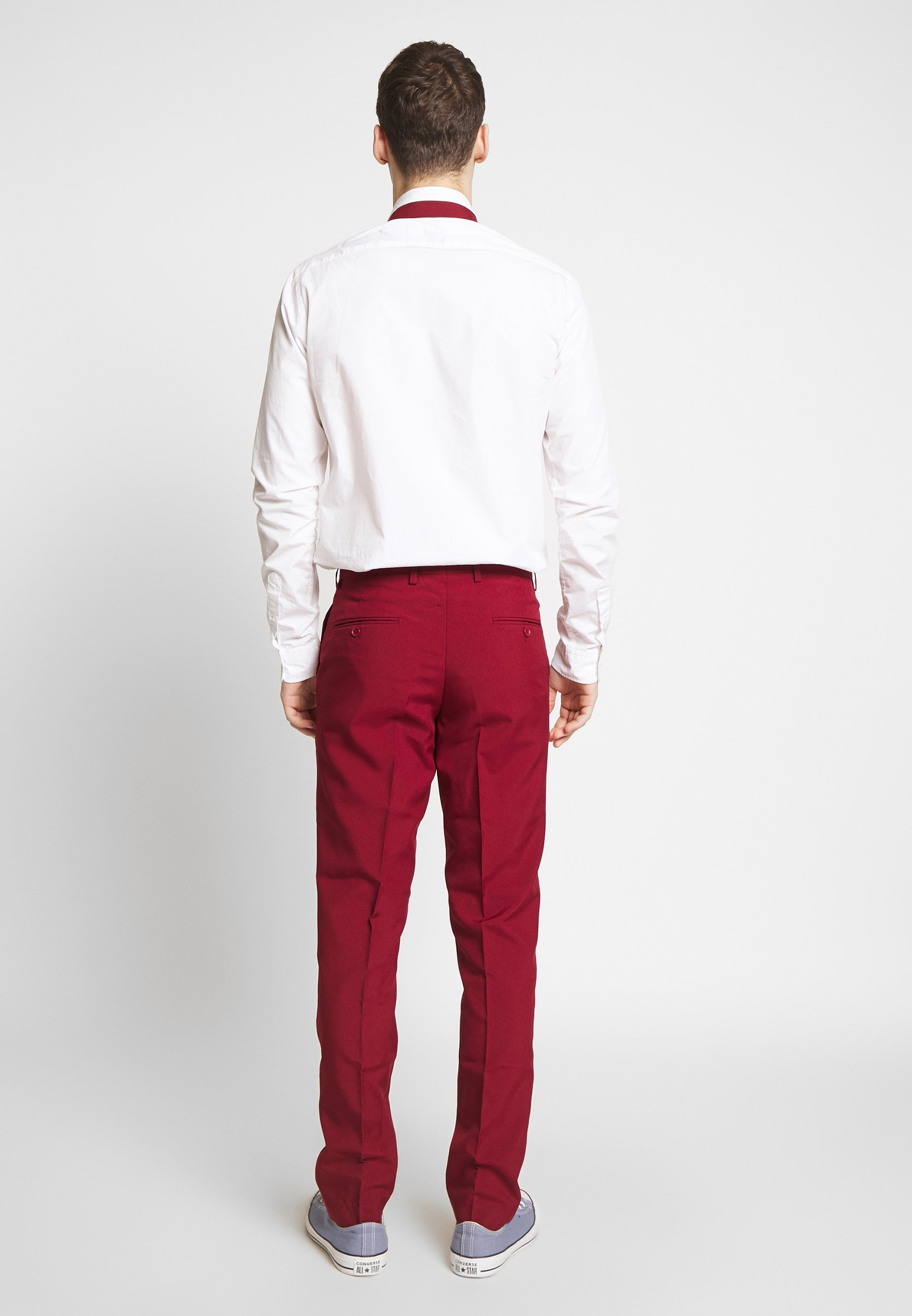 OppoSuits BLAZING - Garnitur - bordeaux - Odzież męska 2020