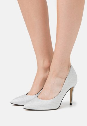 COURT SHOE - Zapatos altos - silver glam