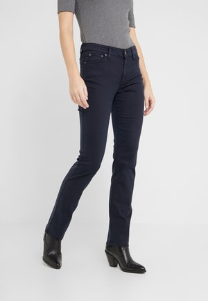 WASHED PANT - Pantaloni - lauren navy