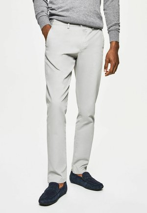 GMT DYE TEXTURE - Chino - mid grey