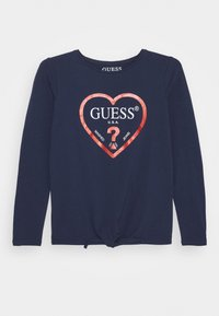 Guess - JUNIOR - Top s dlouhým rukávem - deck blue - 0