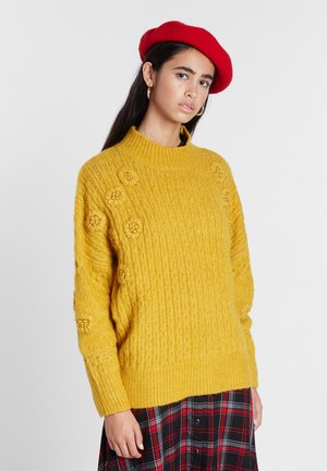 Strickpullover - brown
