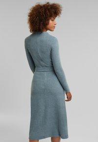 Esprit Collection - Gebreide jurk - grey blue - 2