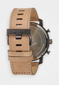 MVMT - CHRONO 45 - Chronograph watch - gunmetal/sandstone - 1