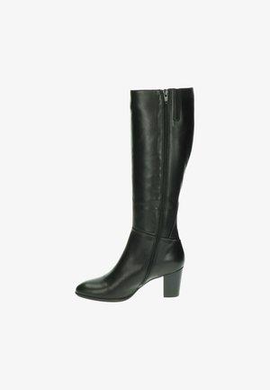 Overknee laarzen - zwart