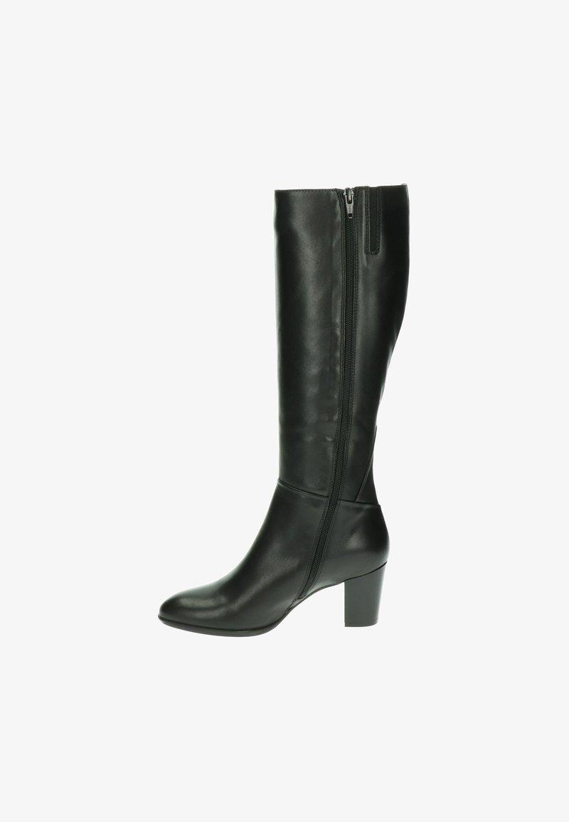 Nelson - Overknee laarzen - zwart