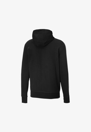 Zip-up hoodie - cotton black